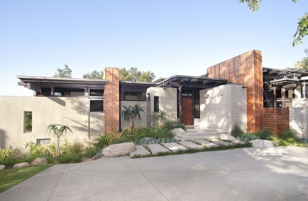 he Walker esidence Pasadena Modern Homes Los ngeles eal state - ^