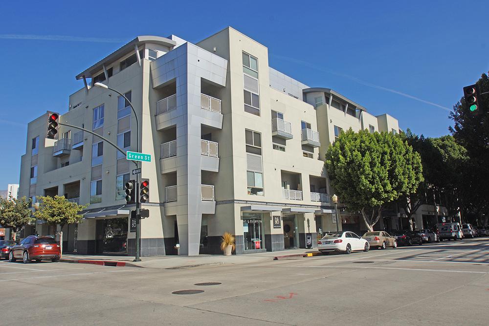 Pasadena Modern Condos-Building