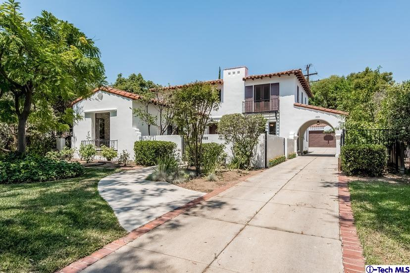 Pasadena spanish homes for sale 1999 mountain avenue for Homes for sale in los angeles area