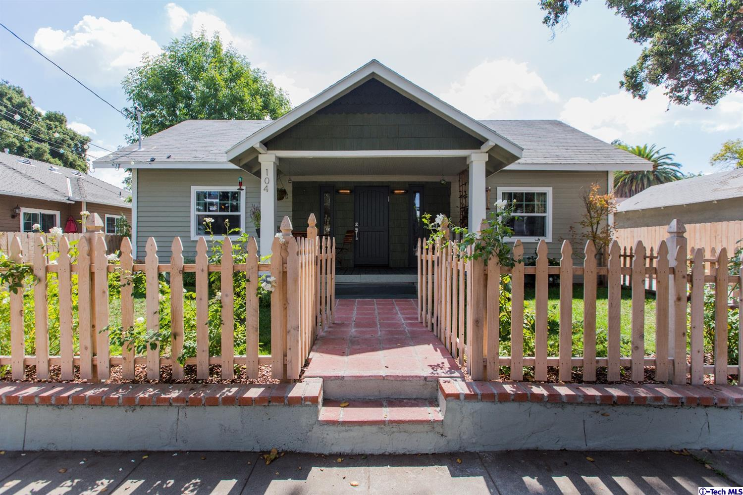 Pasadena deal of the week charming california bungalow for New craftsman homes for sale
