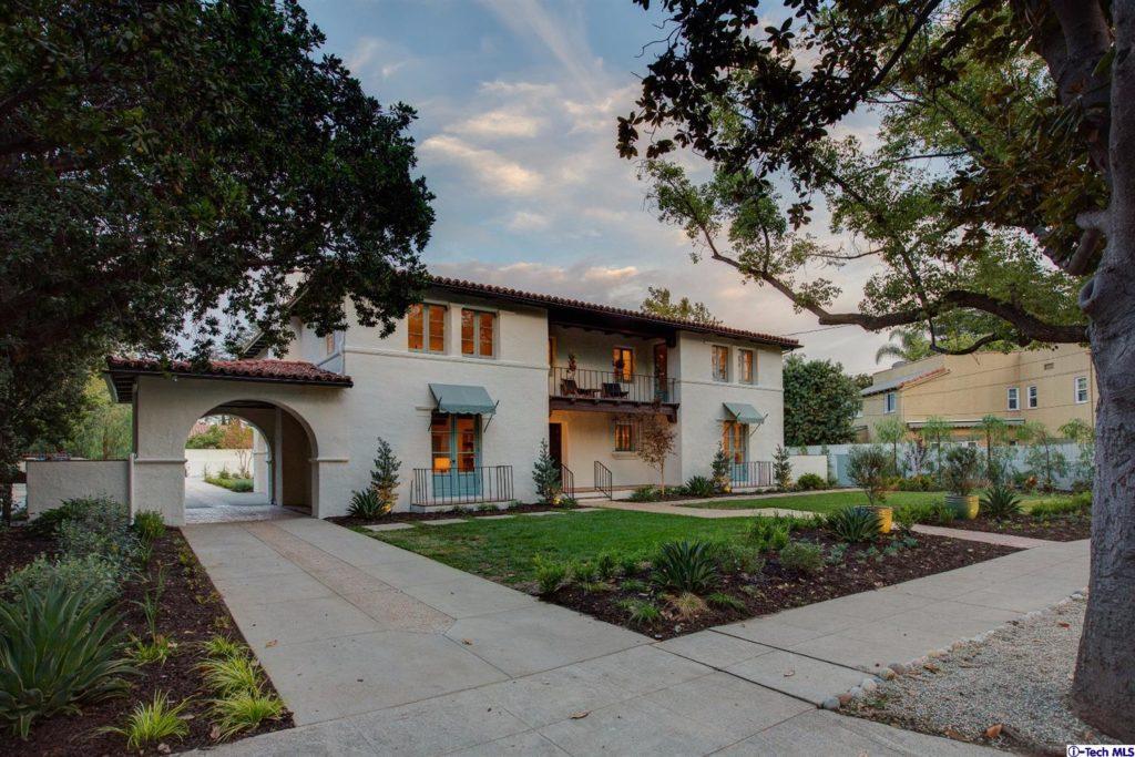 Pasadena mediterranean luxury estates for sale 1086 for Spanish mediterranean homes for sale